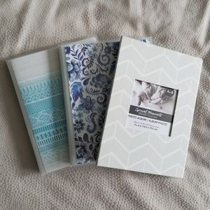 Set of 3 Photo Albums